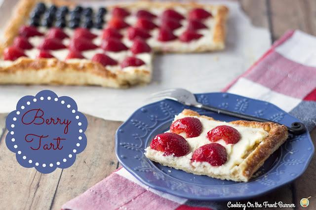 Very Berry Flag Tart