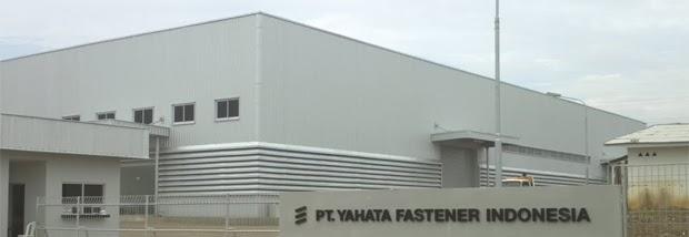 Lowongan Kerja PT. Yahata Fastener Indonesia