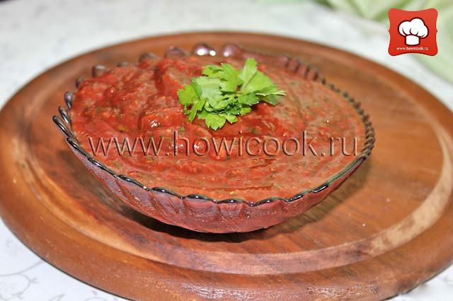рецепт как приготовить вкусный соус сацебели к шашлыку