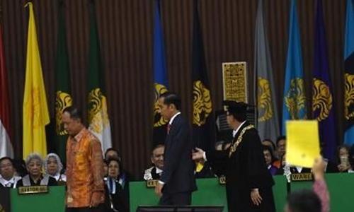 Ketua BEM Kartu Kuning Jokowi, UI: Itu Mencoreng Muka Kita Sendiri