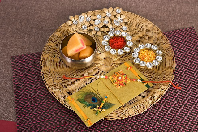 Rakhi Raksha Bandhan Decorated Thali Images