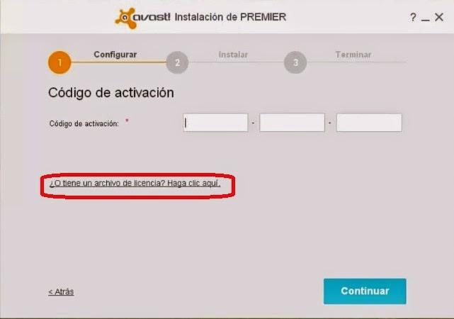 licencia para avast internet security