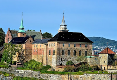 The Citadel of Akershus and its Scary Guardian
