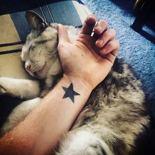 yıldız erkek bilek dövmeleri star wrist tattoos for men