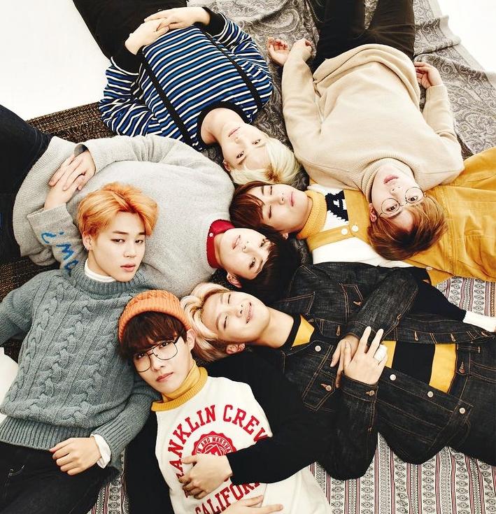 BTS para Top Social Artist