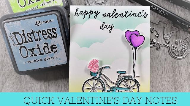 Quick Valentine's Day Mini Card | My Monthly Hero January Kit