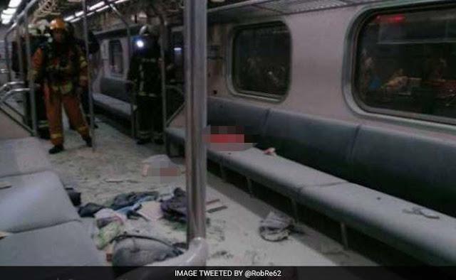 ताइवान की राजधानी में ट्रेन धमाके से करीब 24 लोग घायल