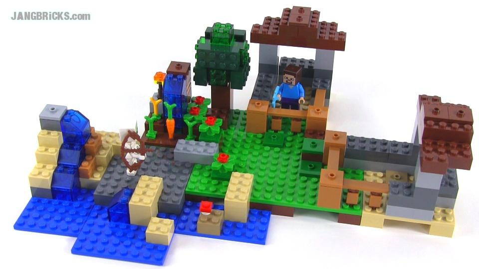 LEGO Minecraft: Crafting Box Build #1 of 8