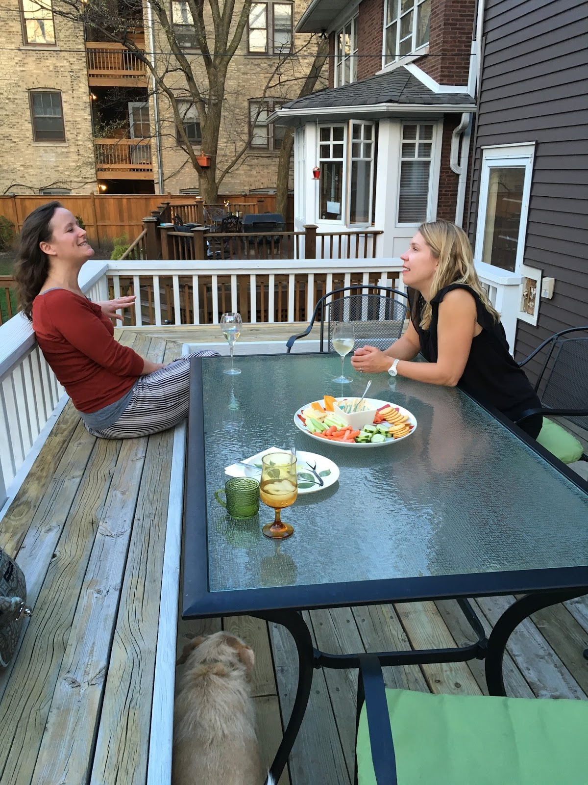 a neighborhood progressive dinner tales from goshen