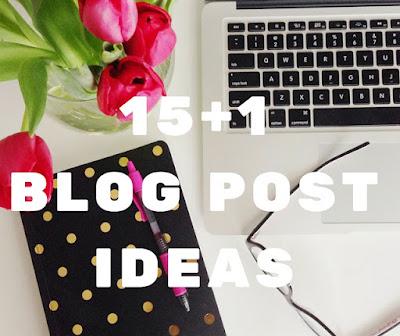 16 ιδέες για αναρτήσεις σχετικά με το blogging   από το Despina's Studio