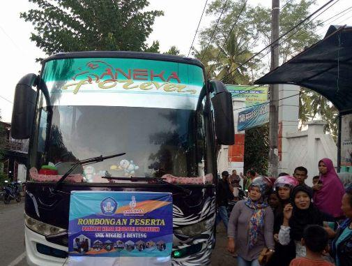 105 Siswa SMK I Selayar, Ikut Praktek Kerja Industri Di Makassar