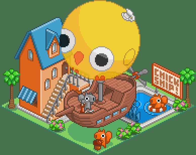 Isocity Pixel Art