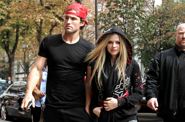 Avril Lavigne reportedly dating son of Texas billionaire Fayez Sarofim
