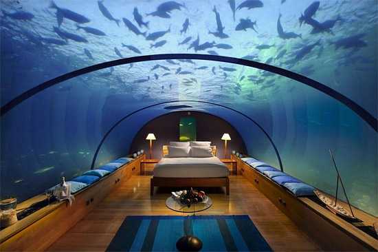 Poiseidon resort Fiji Islands - Underwater hotel suite