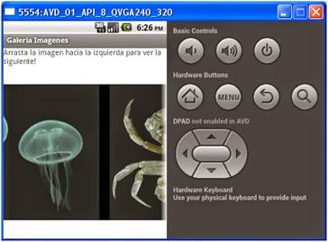 Galería de Imágenes en Android
