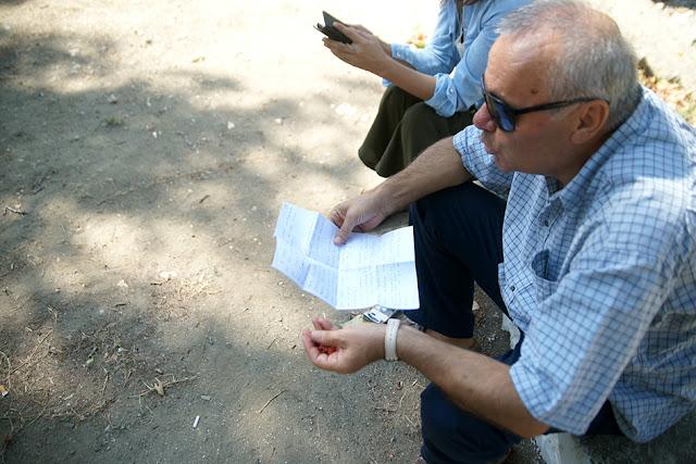 Οδοιπορικό στη Μουργκάνα με το συγγραφέα της Μουργκάνας Σωτήρη Δημητρίου...