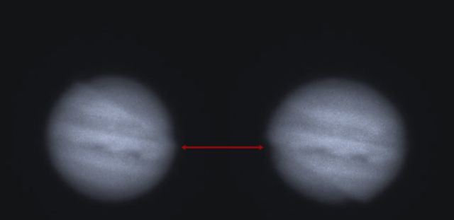 Mysterious Atmospheric Wave passing Jupiter Twice