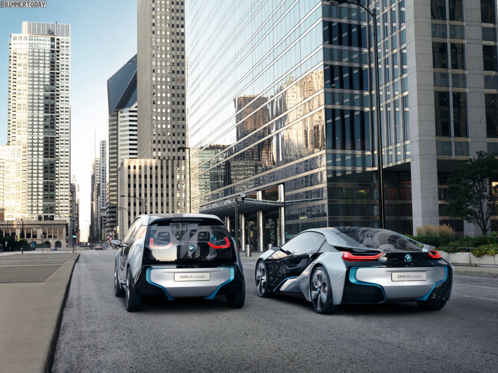Bmw To Sell I3 And I8 Electric Vehicles Online Electric Vehicle News