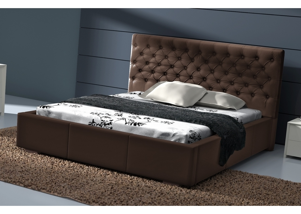 habib ameublement canap le lit en cuir moderne. Black Bedroom Furniture Sets. Home Design Ideas
