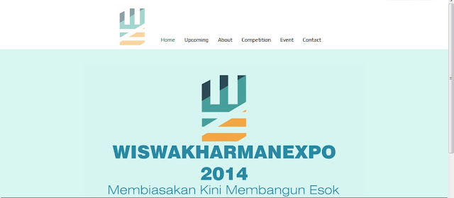 [Portfolio] Website Wiswakharman Expo 2014