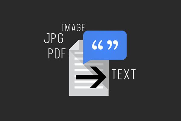 Cara Konversi Foto Hasil Scan ke Text