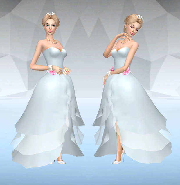 Sims 4 princess jupiter dress edit 05 09 2016