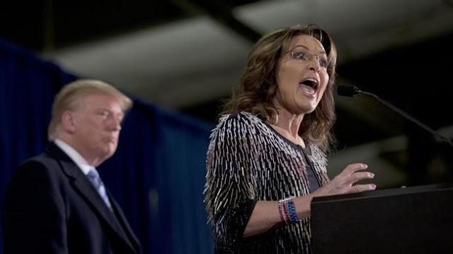 Sarah Palin denounces Donald Trump's Carrier deal as 'crony capitalism'