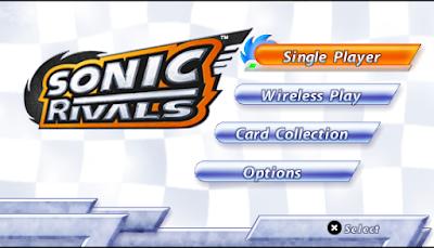 【PSP】音速小子索尼克:競爭者(Sonic Rivals),刺激的動作冒險!