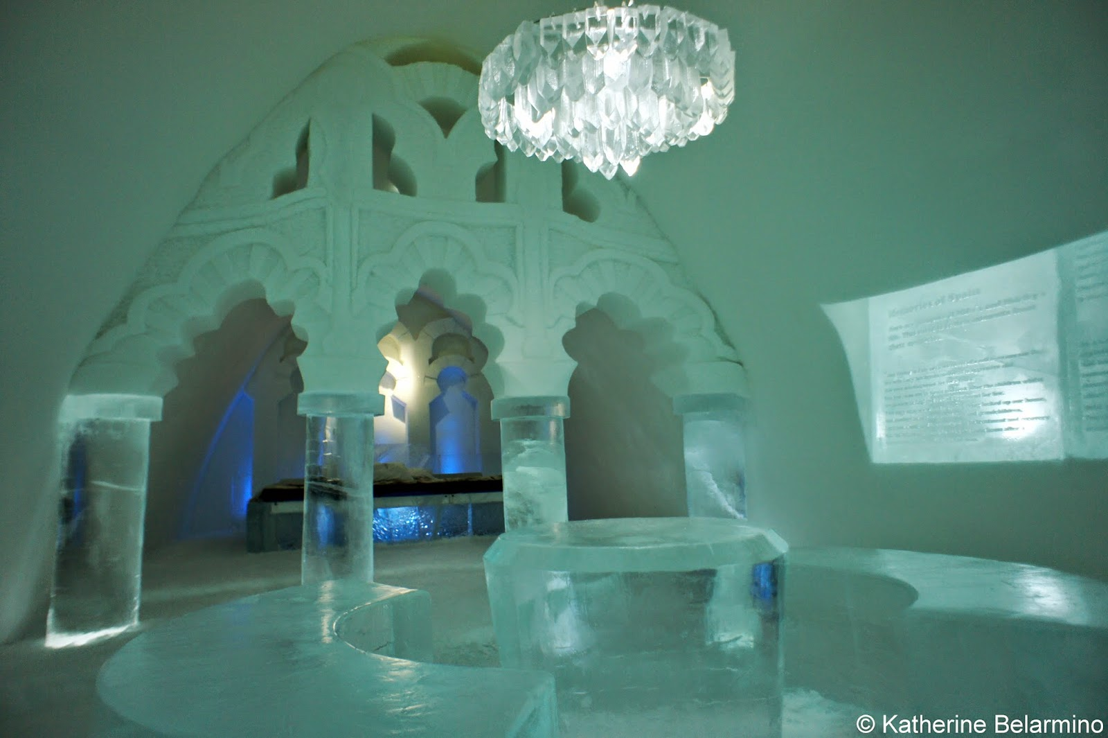 Bathrroms What It S Like To Stay In Sweden S Icehotel Travel The World