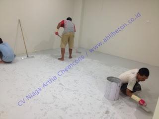epoxy floor atau epoxy lantai
