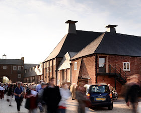 Snape Maltings: the Hoffmann Building - photo Philip Vile