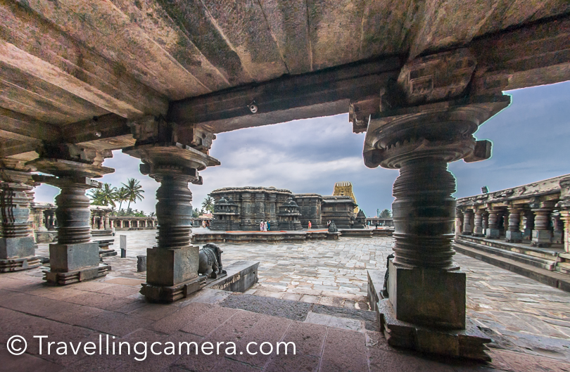 Belur was the early capital of the Hoysala Empire and also a major tourist destination in Karnataka state of India. According to inscriptions discovered in Belur, it was also referred to as Velapuri.