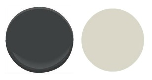 Sherwin-Williams Iron Ore and Sherwin-Williams Worldly Gray