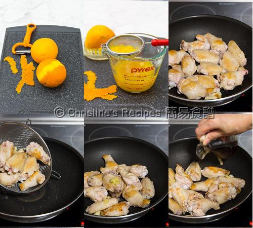 Orange Chicken Wings Procedures01