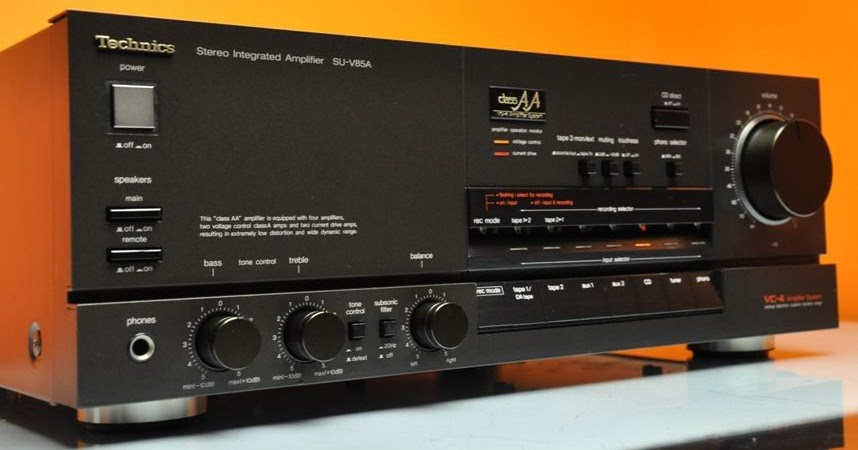 AudioBaza: Technics SU-V85A - Integrated Amplifier