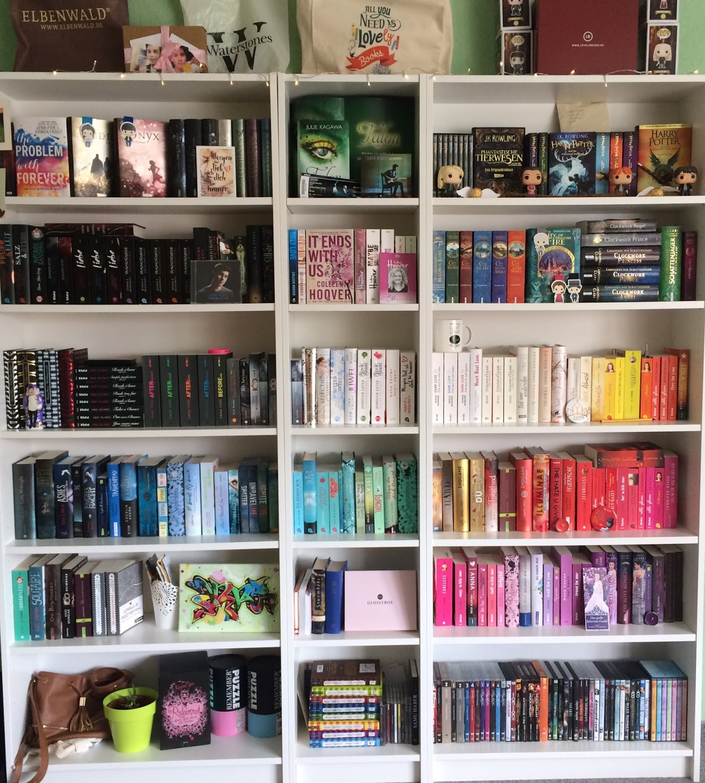 Bücherregal gemalt  Mein Bücherregal Und Ich - SoftwareMac