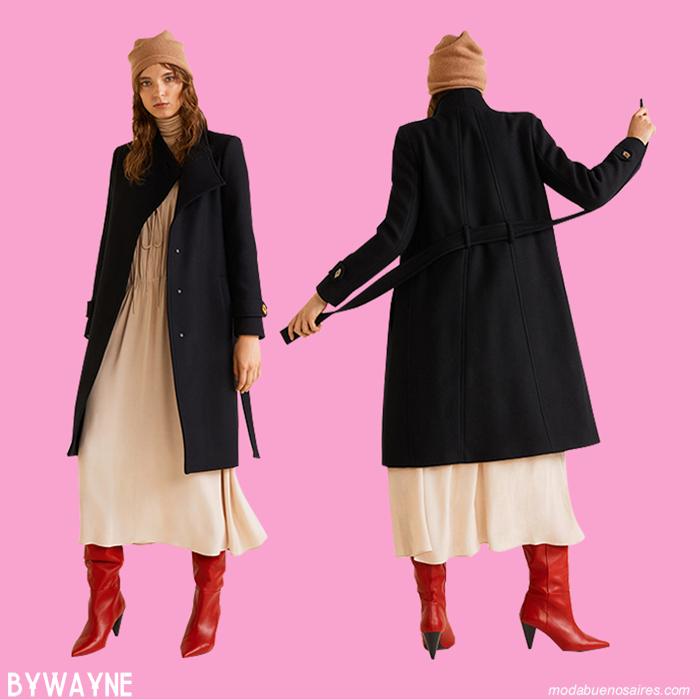Abrigos otoño invierno 2019.│ Moda otoño invierno 2019 abrigos de mujer.│Abrigos invierno 2019.