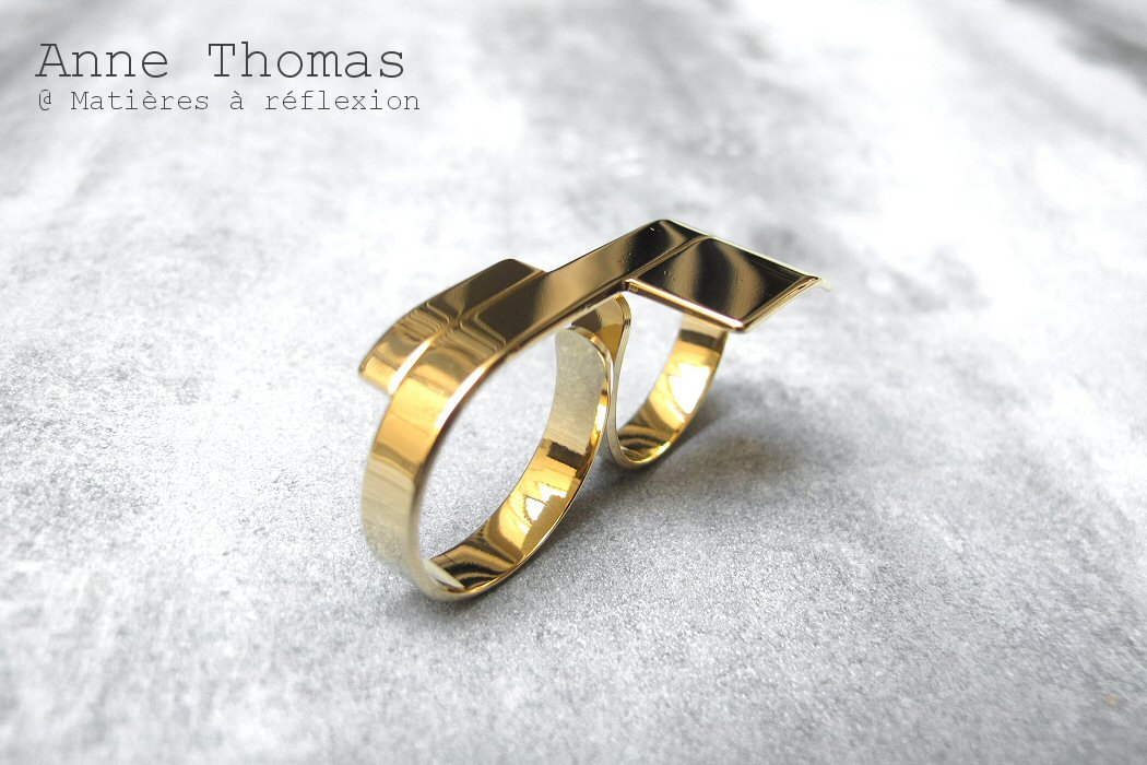 Anne Thomas bague double
