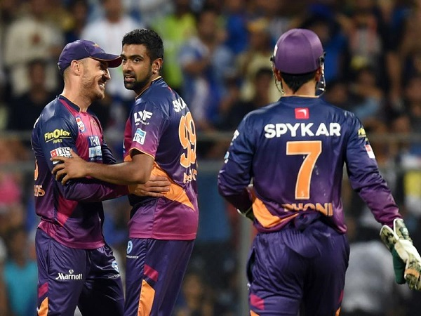 IPL 2017 : Match 2 : Result : Rising Pune Supergiant beat Mumbai Indians by 7 wickets