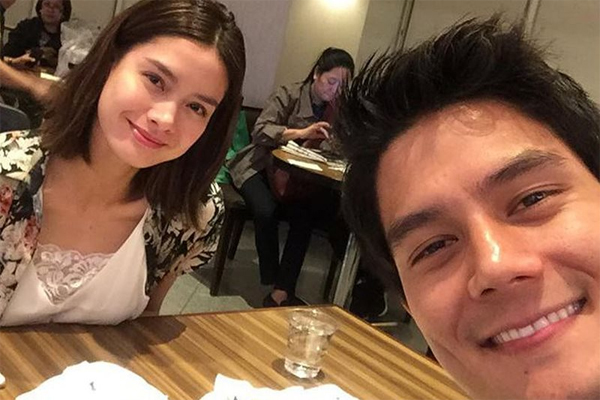 Ex-lovers Erich Gonzales and Daniel Matsunaga talk and settle things before flying to US for concert