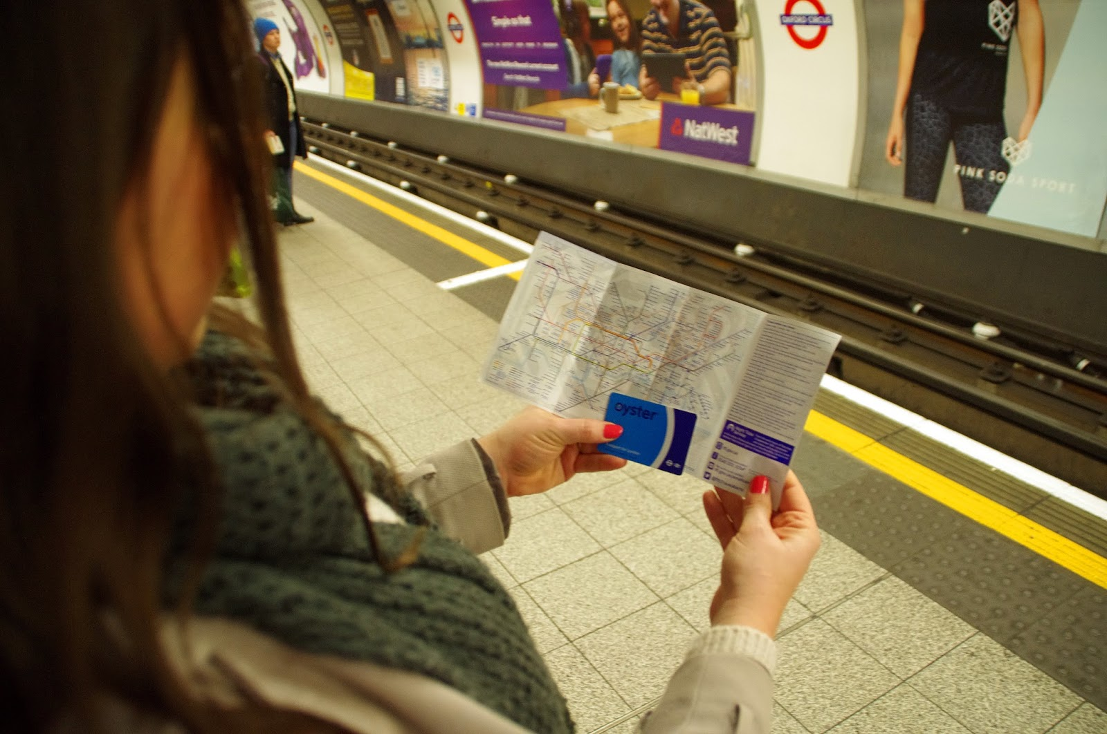 London Tube Map & Oyster Card