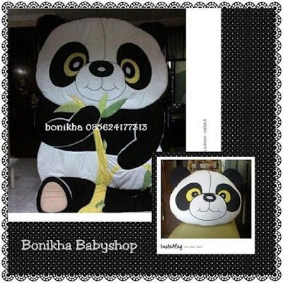 bed cover binatang panda