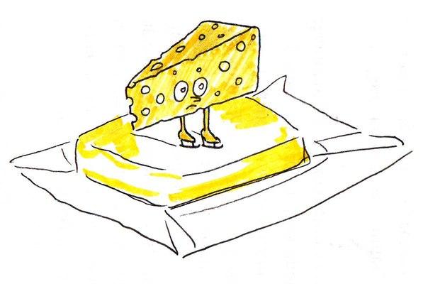 Эвелина Васильева. Сыр едет по маслу