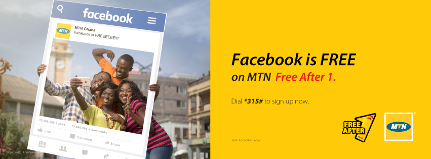 MTN Free After 1 (MTN FA1) with Free Facebook Data  ~ GHANA