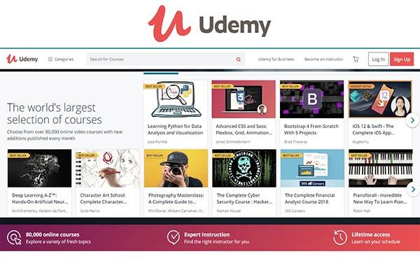 Kursus Marketing Online Menggunakan Udemy