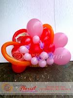 bunga ucapan selamat, bunga ucapan kelahiran bayi, bunga pembukaan kantor, karangan bunga balon, balon ucapan selamat