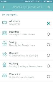 DogVacay Aplikasi Kucing di Android