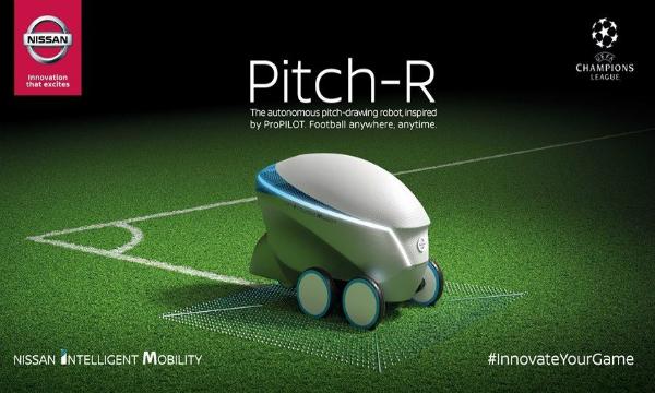 نيسان تكشف عن روبوتها الجديد Pitch-R بمهام مميزة