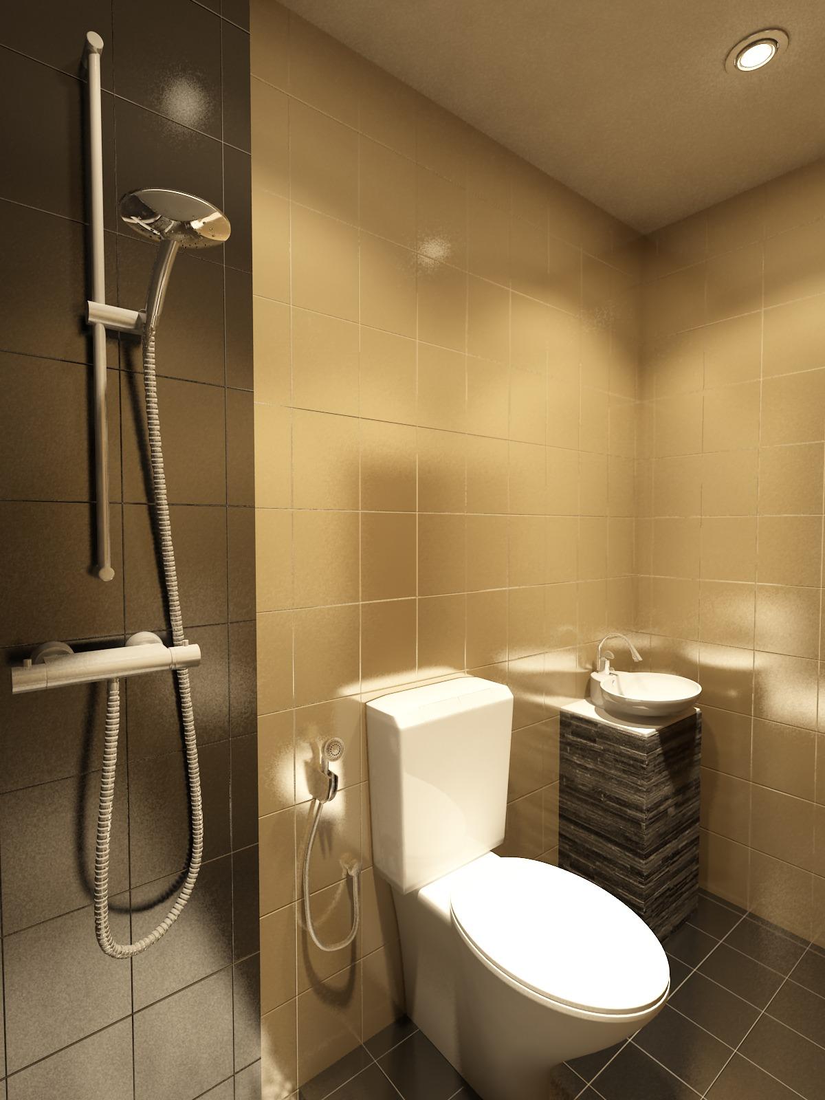 desain kamar mandi minimalis wc jongkok   gambar desain rumah minimalis