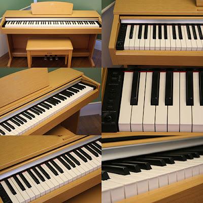 Tổng quan về piano điện cũ tại TPHCM